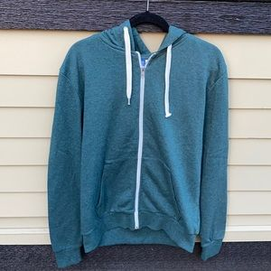 H&M hooded zip up